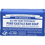 Dr Bronners Magic Soap All One Obpe05 5 Oz Peppermint Dr. Bronner'S Bar Soap