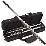 Windsor MI-1002 Windsor Student Nickel Plated Flute With Split E Key Includes Hard Case