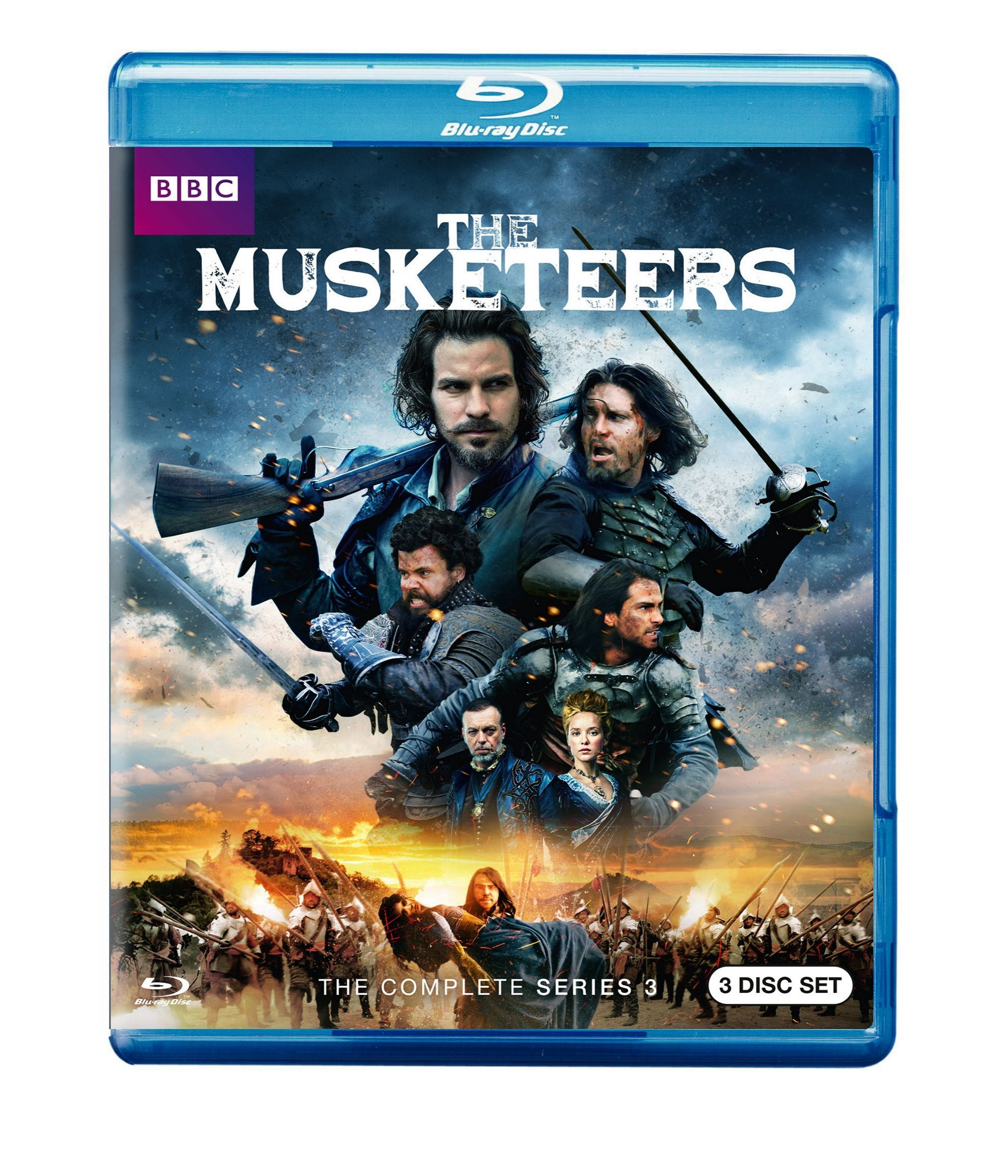 Blu-ray : The Musketeers: The Complete Series 3 (Blu-ray)