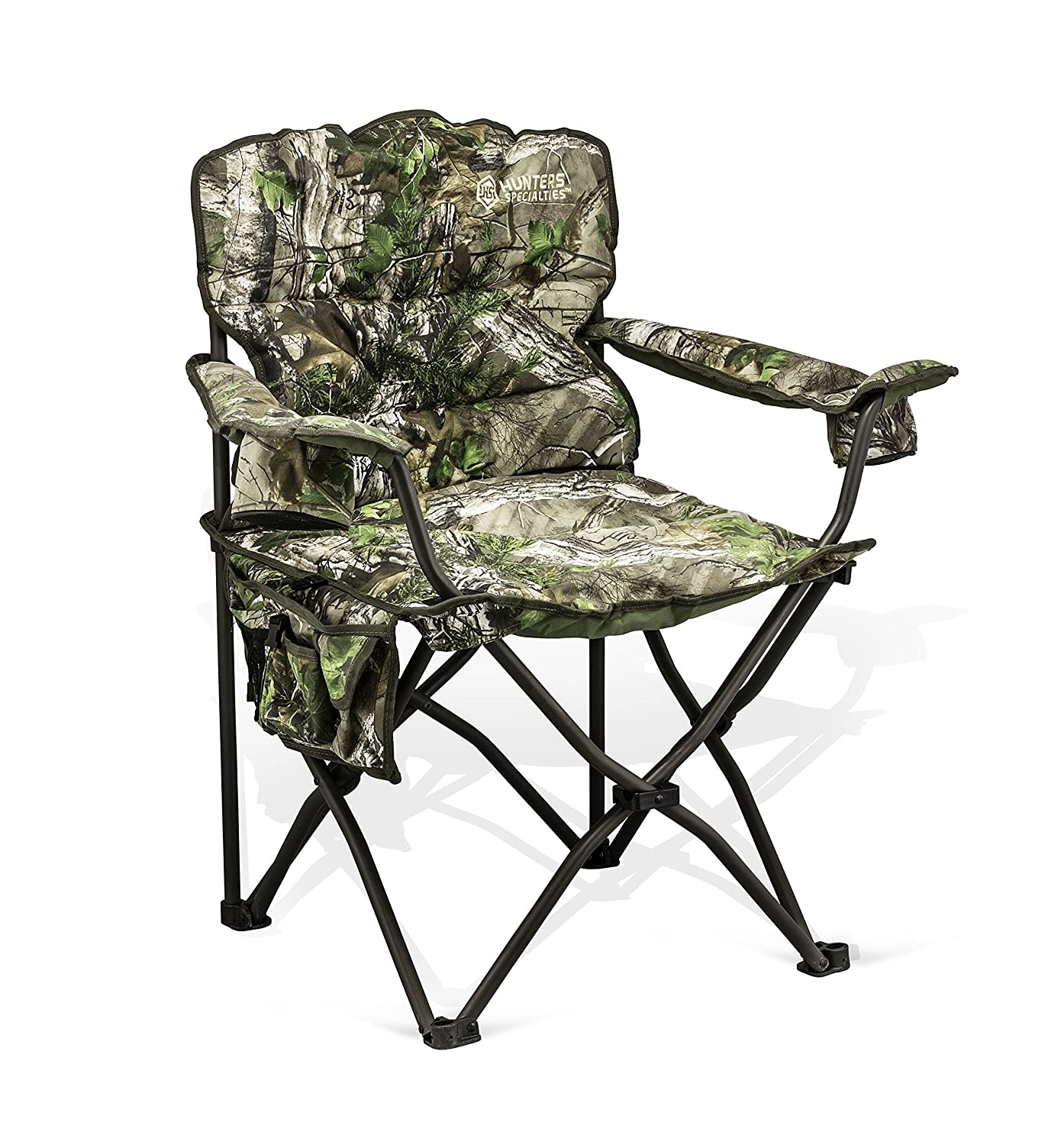 Hunters Specialties Deluxe Pillow Camo Chair Realtree Xtra Green