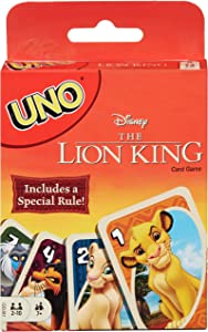 UNO: Disney The Lion King - Card Game