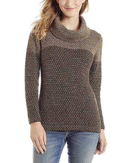 prezzo più basso con economico in vendita informazioni per Invisible World Maglione Donna Alpaca Collo ad Anello