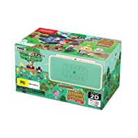 2DS XL Animal Crossing Edition + AC New Leaf amiibo (pre-installed)