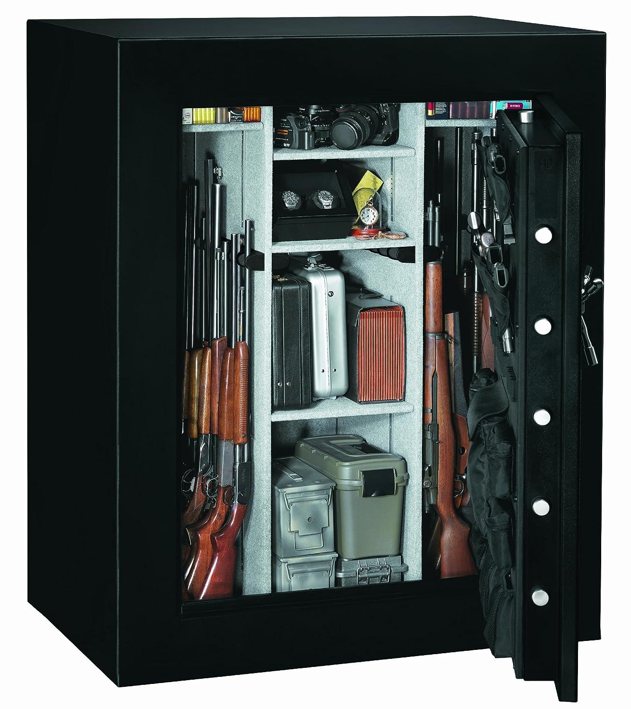 Amazon.com: Stack On E 66 MB E S Elite 66 Gun Security Safe With Door  Storage, Electronic Lock, Matte Black: Home Improvement