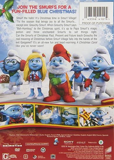 Amazon.com: The Smurfs Christmas Carol: Troy Quane, Kurt Albrecht ...