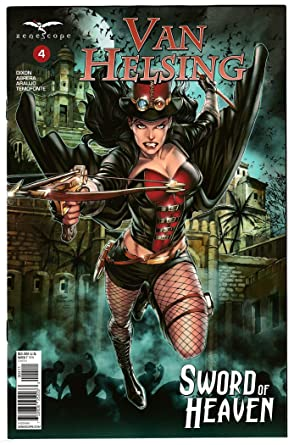 Amazon com: Van Helsing Sword Of Heaven #4 Cvr A (Zenescope