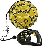Kickmaster Kickmaster Close Control Trainer - Balón de fútbol de entrenamiento, color negro