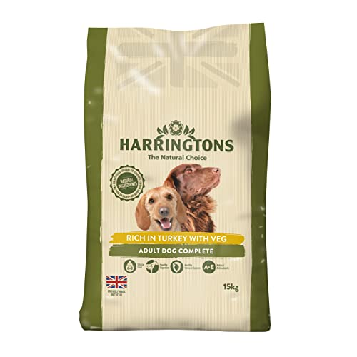 Harrington's Dog Food Complete Turkey and Vegetables Dry Mix 15kg