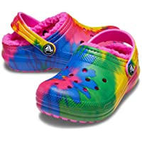 Unisex-Child Classic Tie Dye Lined Clog | Kids' Slippers