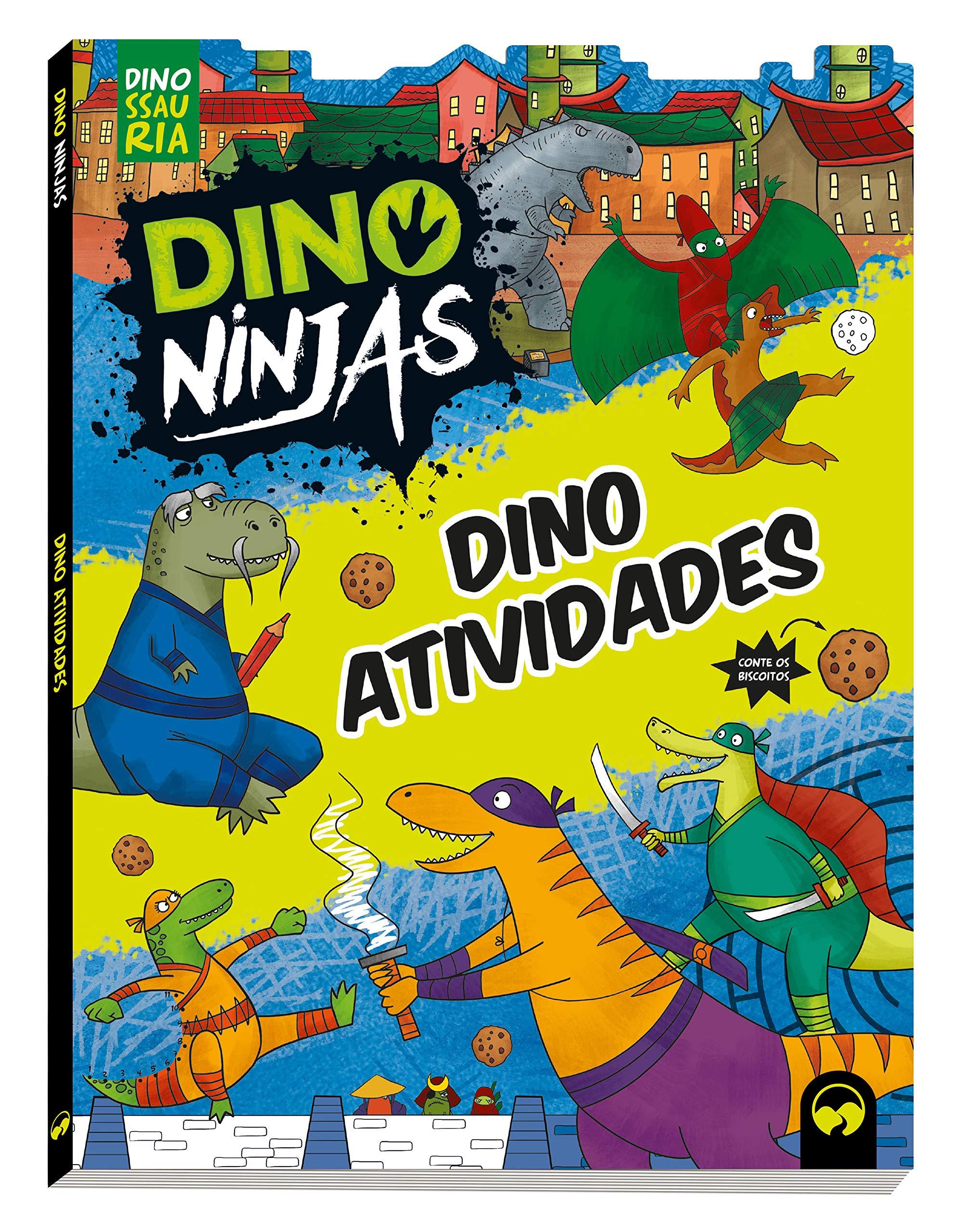 Dino Atividades Ninjas - Capa Azul: Vários Autores ...