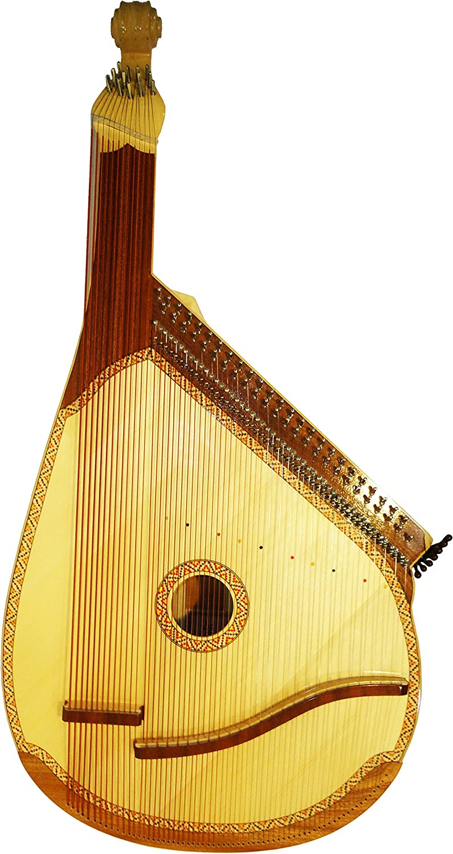 New Ukrainian Trembita Traditional Bandura 65 (63) Strings (391 ...