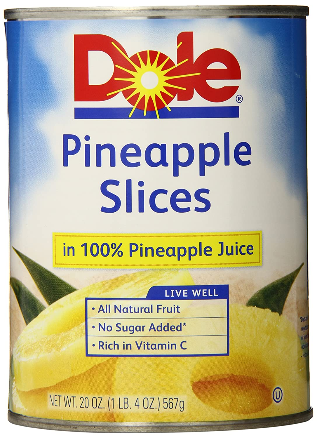Is Dole Pineapple Slices Gluten Free Dole Pineapple S...