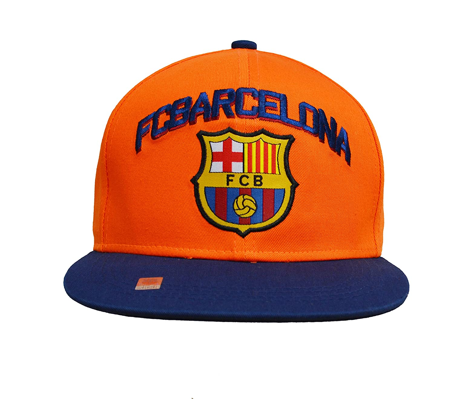 Amazon.com   Fc Barcelona Snapback Adjustable Cap Hat - Blue - Orange - Red  New Season   Sports   Outdoors 287a7172cff