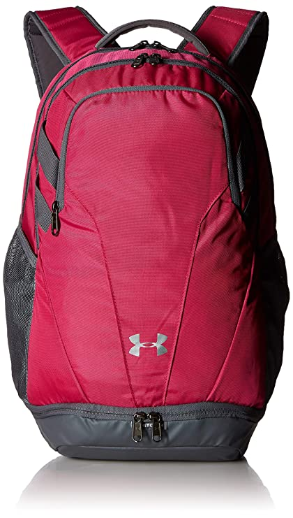 Under Armour UA Hustle 3.0 mochila, Talla unica, Rosado