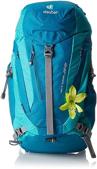 Deuter Act Trail 22 SL Mochila, Unisex Adulto, Azul (Petroleo/Mint), 24x36x45 cm (W x H x L): Amazon.es: Deportes y aire libre
