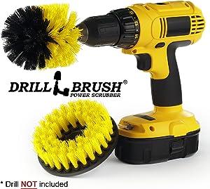 Bathroom Accessories - Cleaning Supplies - Drill Brush - Shower Cleaner - Bathtub - Bath Mat - Shower Curtain - Sink - Bidet - Grout Cleaner - Shower Door- Scrub Brush - Carpet - Tile - Flooring