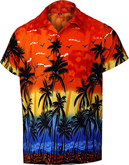 Virgin Crafts Men's Hawaiian Shirt