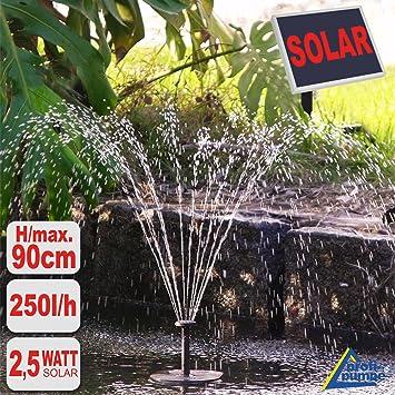bomba solar fuente solar oasis bomba de agua exterior fuente