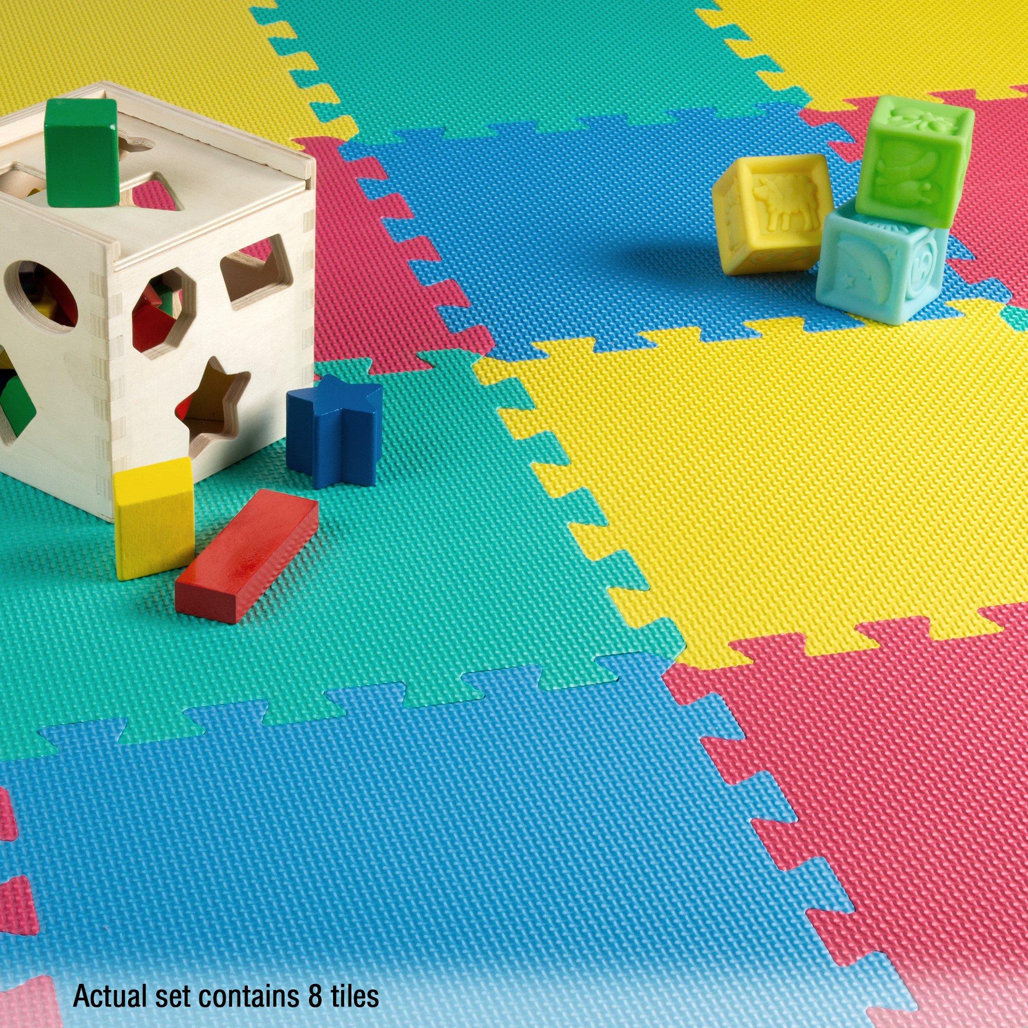 Stalwart Foam Mat Floor Tiles, Interlocking EVA Foam Padding by Stalwart (Image #2)