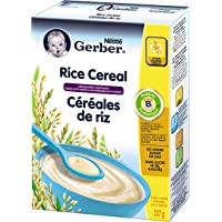 Gerber Rice Cereal Standard, Stage 1, 227g box (6 pack)