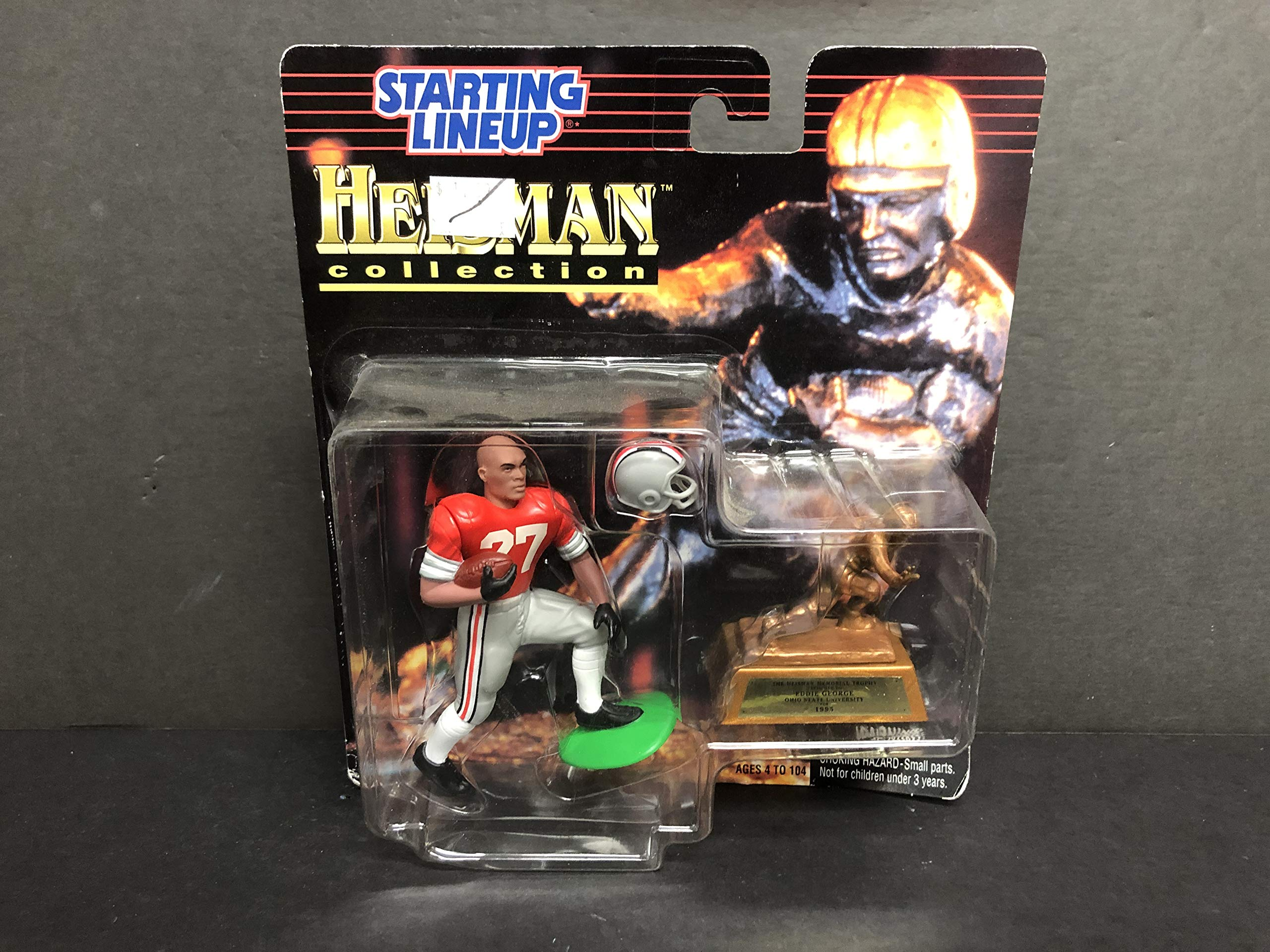 1997 Heisman Trophy Winner Football Action Figure Eddie George Ohio State University 1995