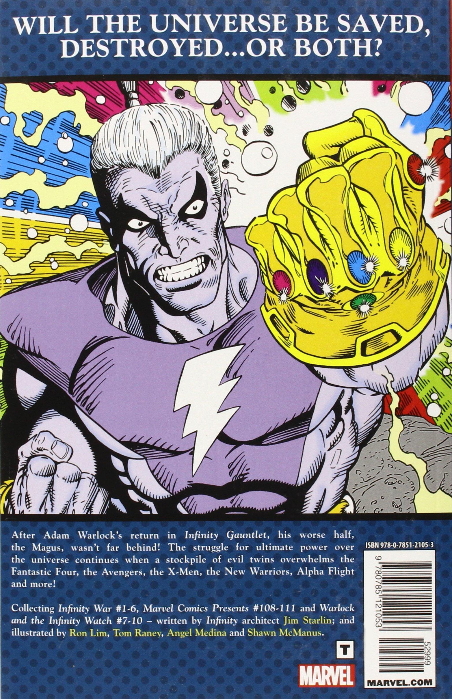 Avengers Infinity War Comic Pdf