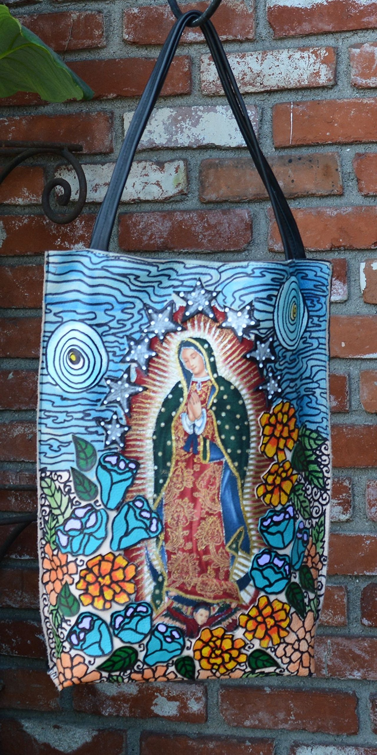 Our Lady of Guadalupe Blue