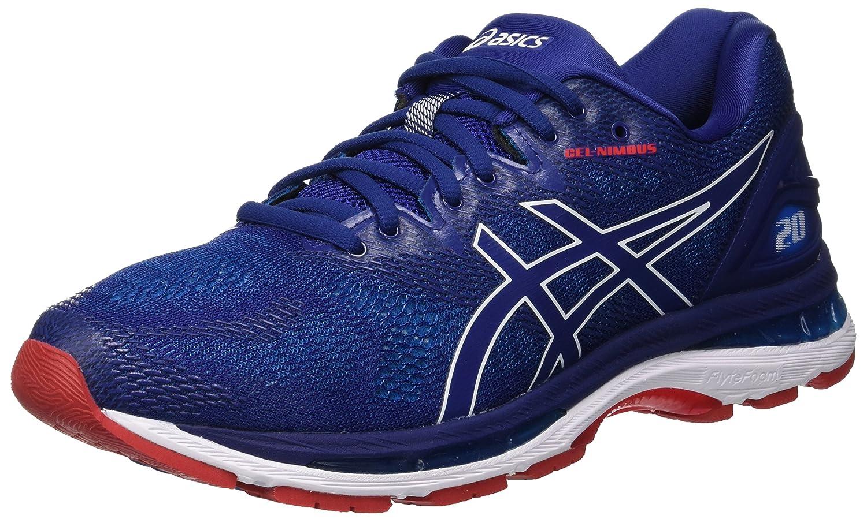 Asics Gel-Nimbus 20, Zapatillas de Running para Hombre 48 EU|Azul (Blue Print/Race Blue 400)