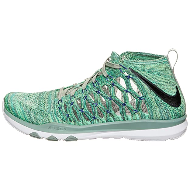reputable site 9e52b 01d26 Nike Men s Train Ultrafast Flyknit Enamel Green Cannon Ghost Green 843694- 300 (Size  8. 5)  Buy Online at Low Prices in India - Amazon.in