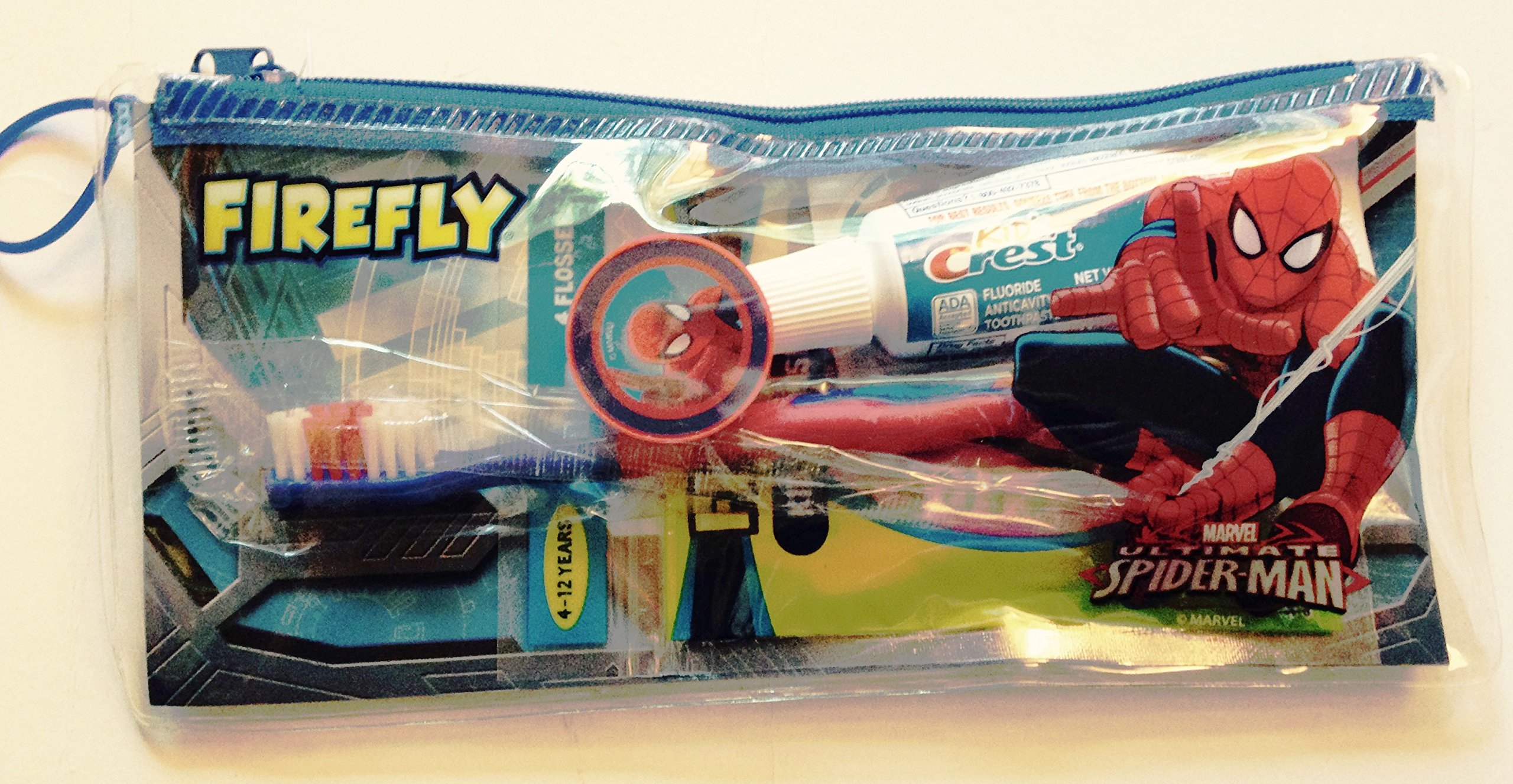 Firefly Dental Travel Kit for Kids (Ultimate Spider-Man)