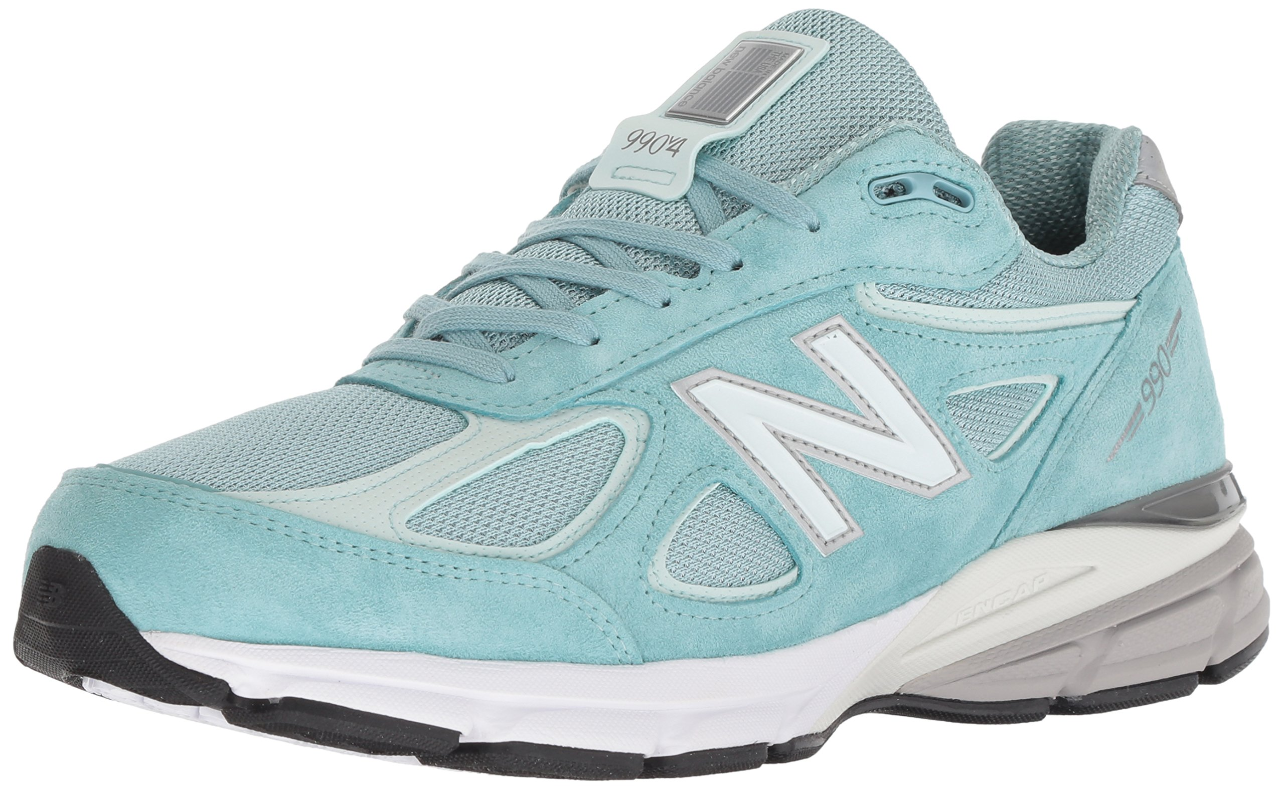 New Balance Men's 990v4, Green/White, 7 D US by New Balance (Image #1)