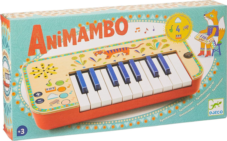 DJECO ANIMAMBO giocattolo in legno Sintetizzatore