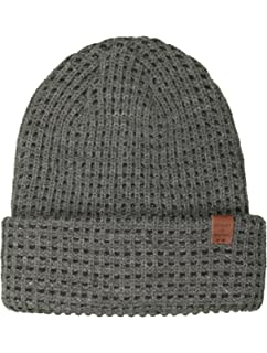 f5746b7ae2b Bickley   Mitchell Ribbed Beanie Hat Black Mens One Size at Amazon ...