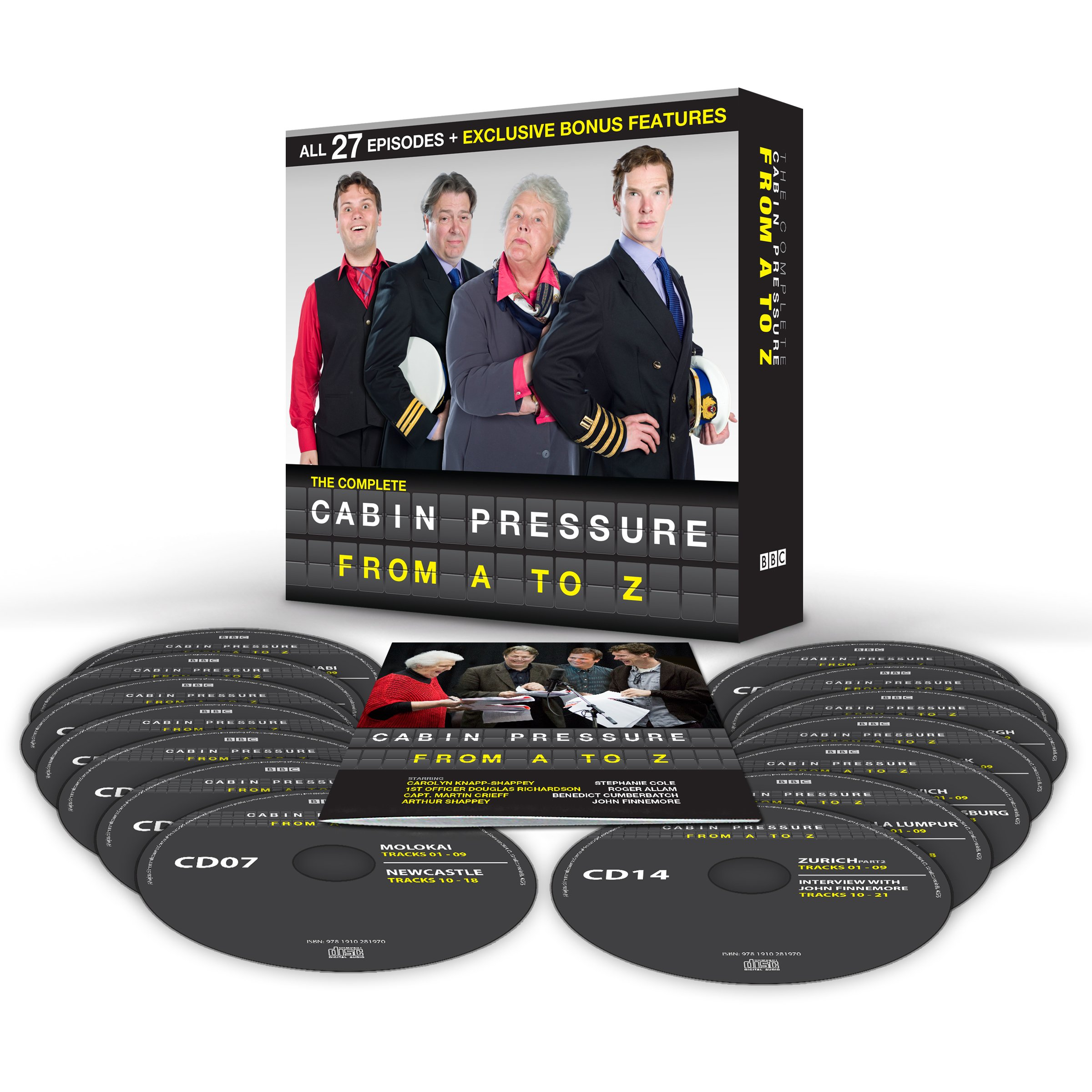 Superieur Cabin Pressure: A Z: The BBC Radio 4 Airline Sitcom: Amazon.co.uk: John  Finnemore, Benedict Cumberbatch, Full Cast, Stephanie Cole: 9781910281994:  Books