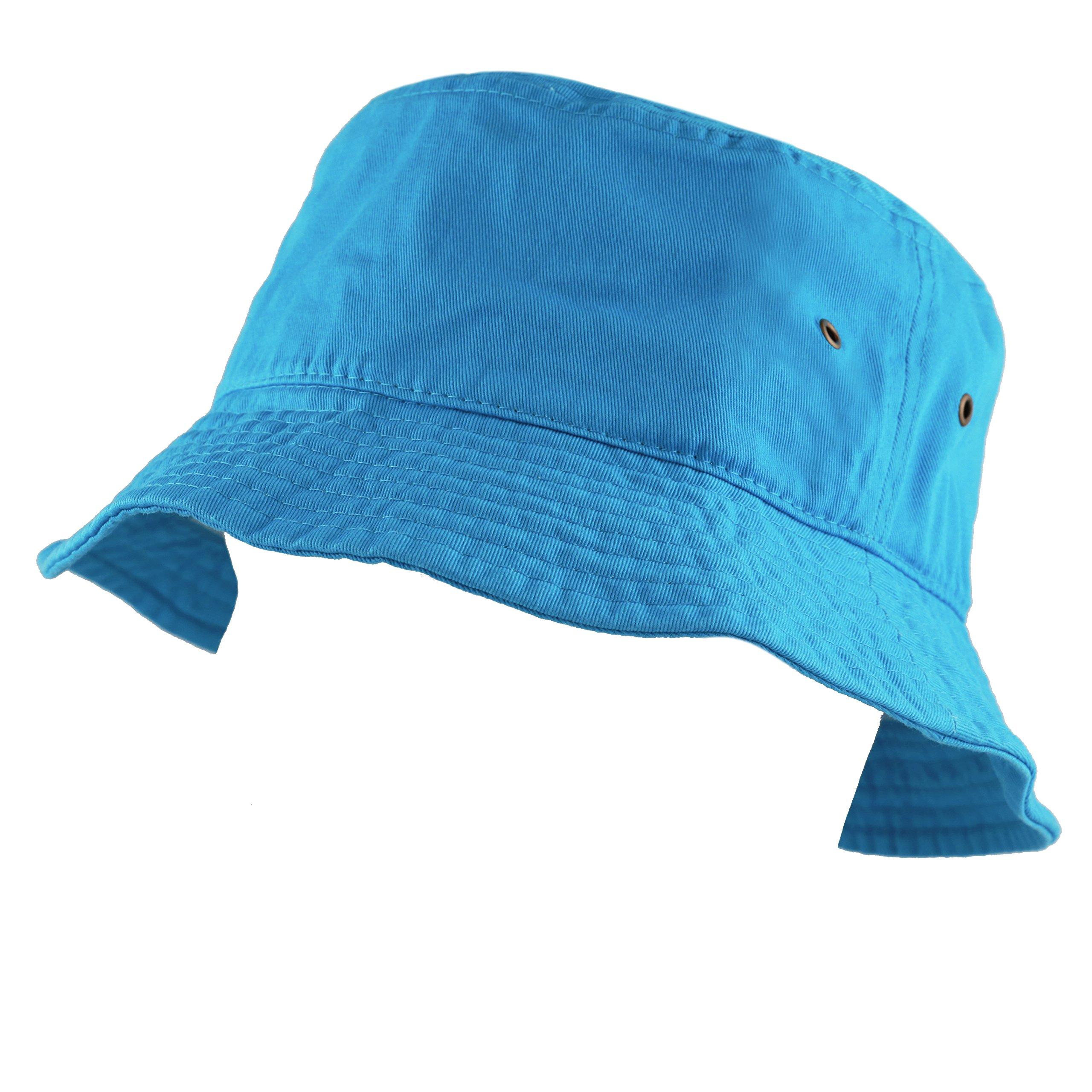 1d70bff5e24 Details about THE HAT DEPOT 300N Unisex 100% Cotton Packable Summer Travel  Bucket Hat (S M