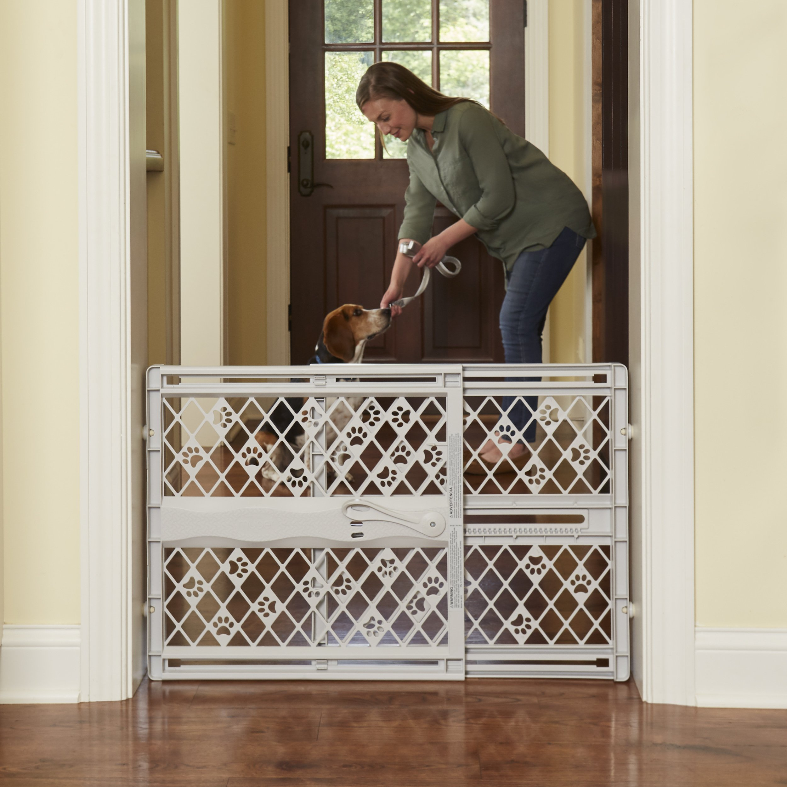 North States Pet MyPet Paws Portable Pet Gate fits Openings 26'' to 42'' Wide by North States Pet (Image #5)