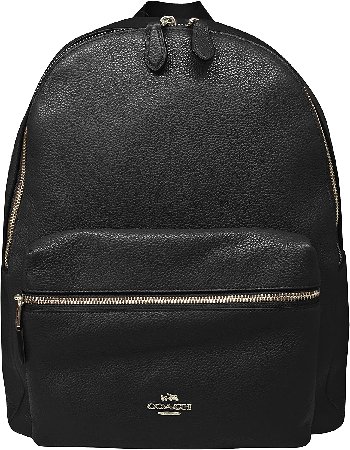 Coach Charlie Pebble Leather Backpack 17091