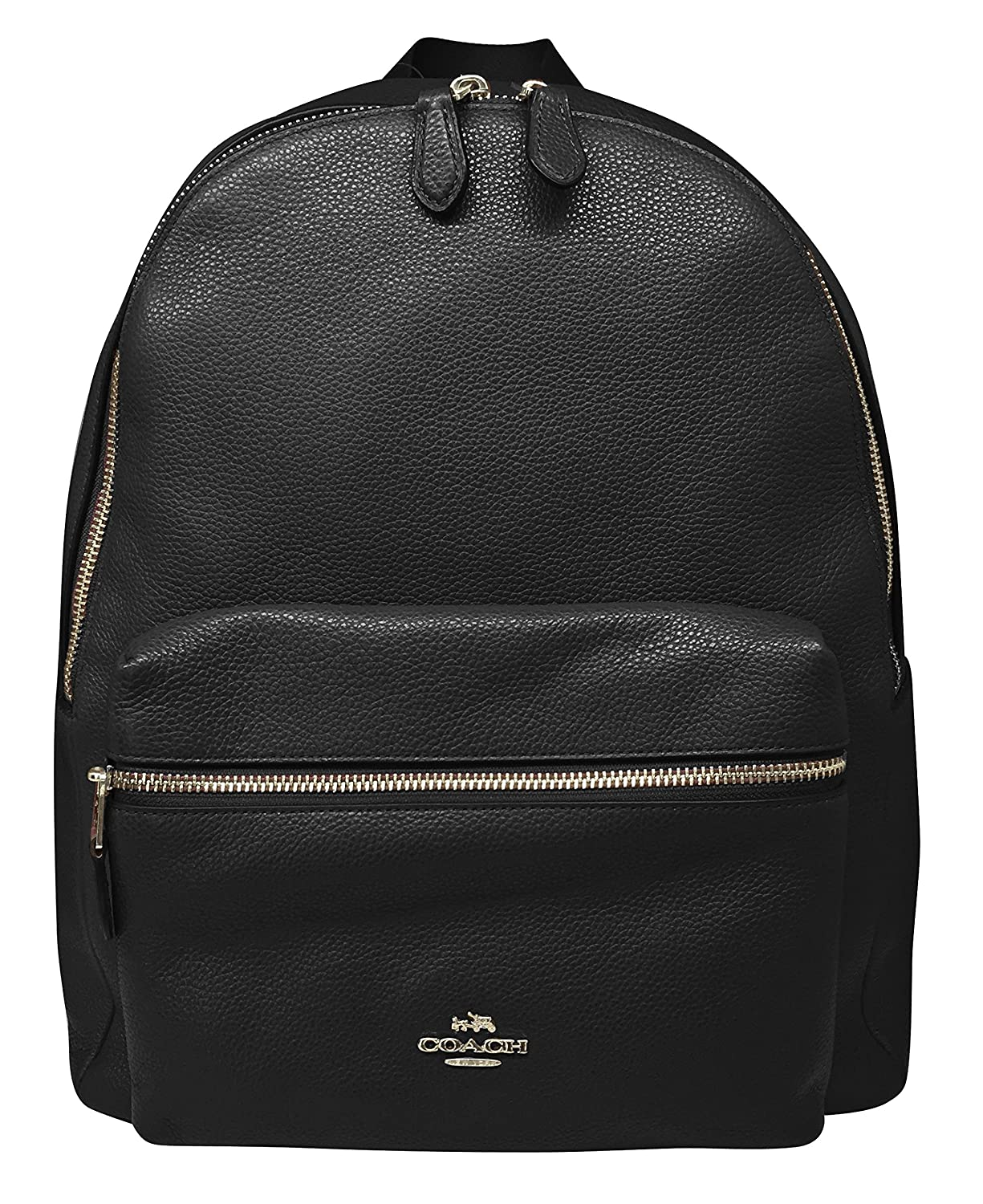 ca3eb7c900be Amazon.com  Coach Charlie Pebble Leather Backpack 17091  Shoes