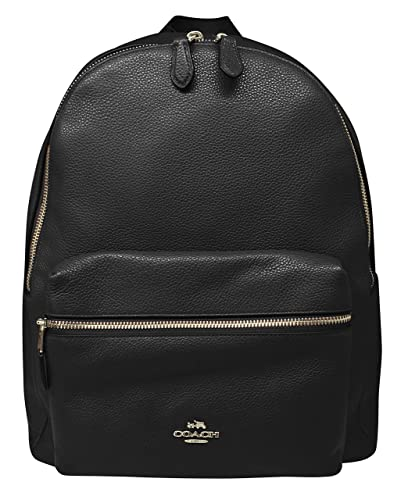 437c61ab712fc Amazon.com: Coach Charlie Pebble Leather Backpack 17091: Shoes