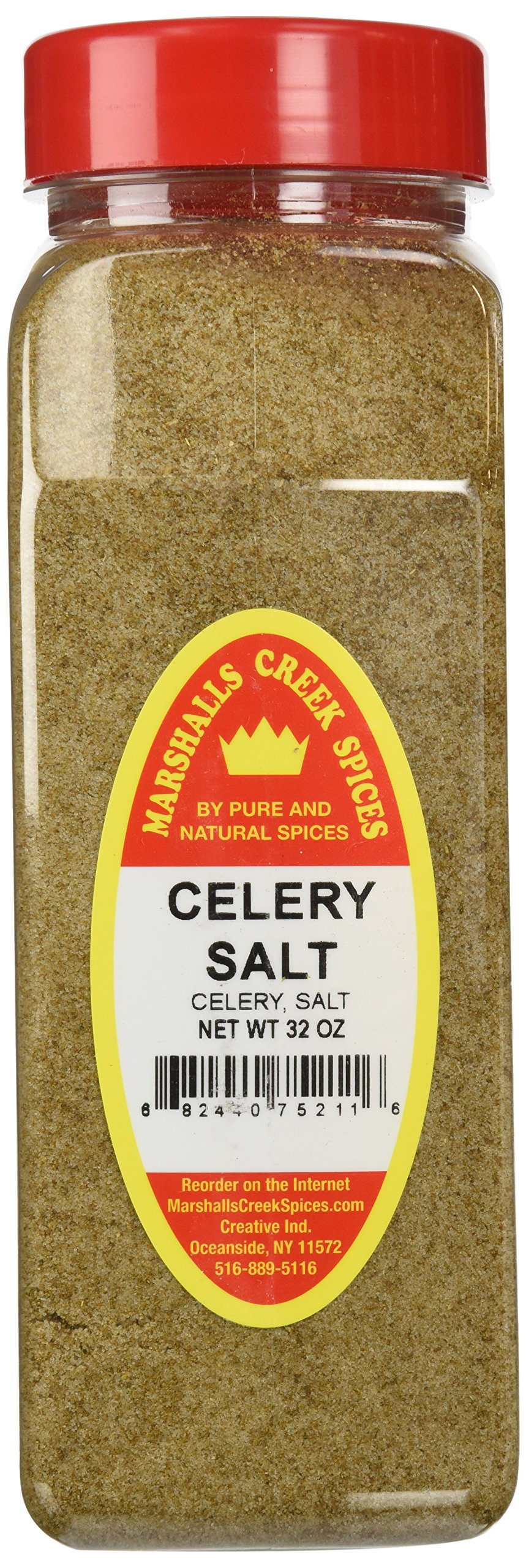Marshalls Creek Spices X-Large Size Celery Salt, 32 Ounces