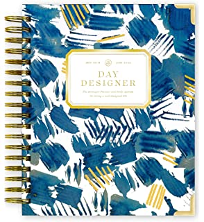 Amazon.com : Day Designer 2019-2020 Daily Life Planner and ...