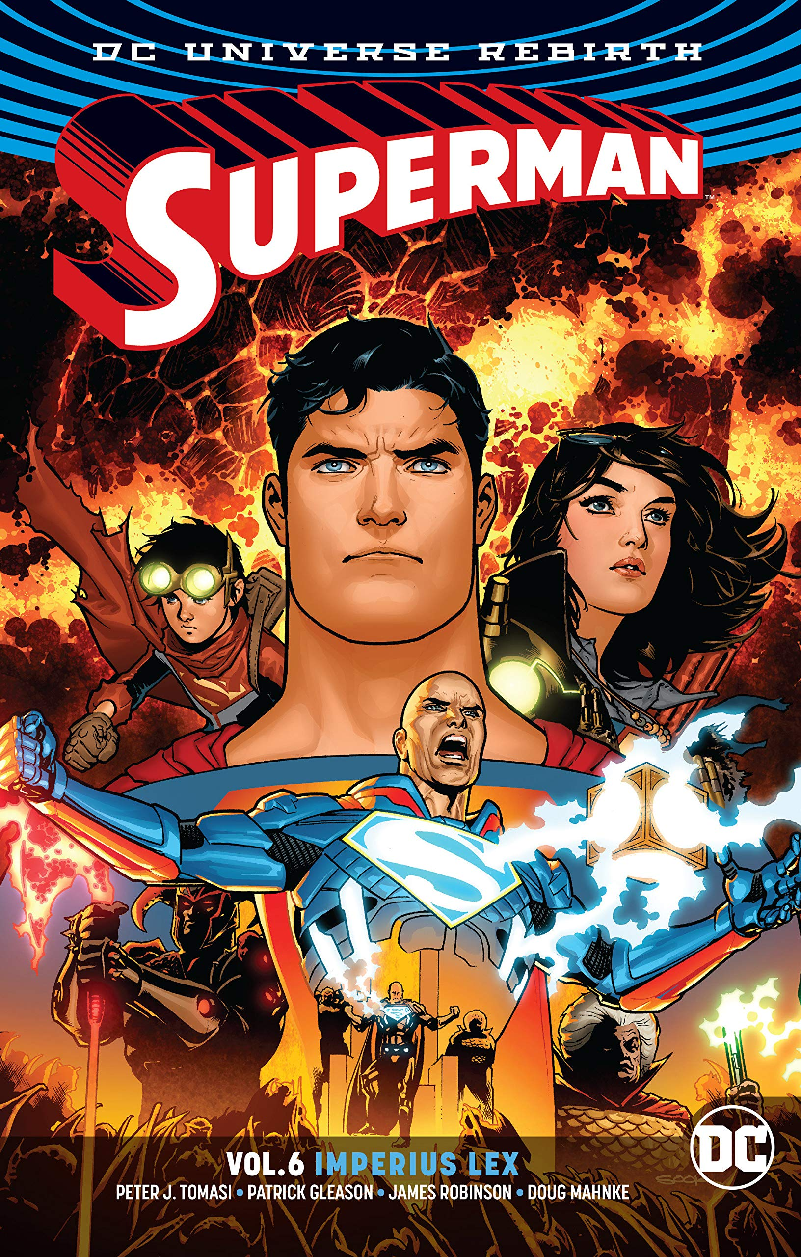 Image result for Superman Vol. 6 Imperius Lex