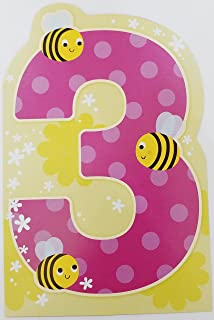 Thats You Being Three Happy 3rd Birthday Greeting Card