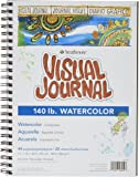 Strathmore Spiral Bound Visual Journal with 9 by 12-Inch 140-Pound Watercolor Paper