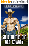 Romance: Sold To The BIG Bad Cowboy    (English Edition)