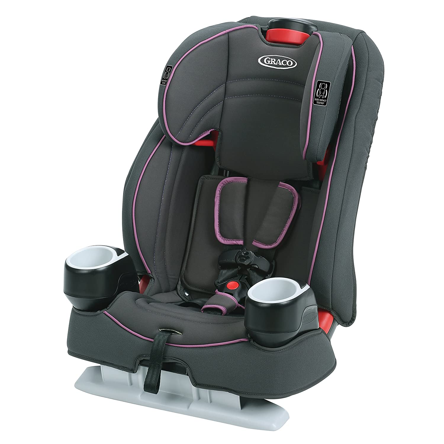 Graco Atlas 65 2 in 1 Harness Booster Seat | Harness Booster and High Back Booster in One, Nyssa