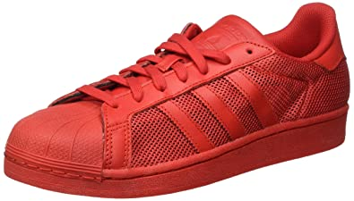adidas Superstar, Baskets Basses Homme, Rouge Collegiate Red, 40 EU