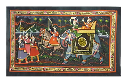 Rajasthani 3d Mural Art Designs