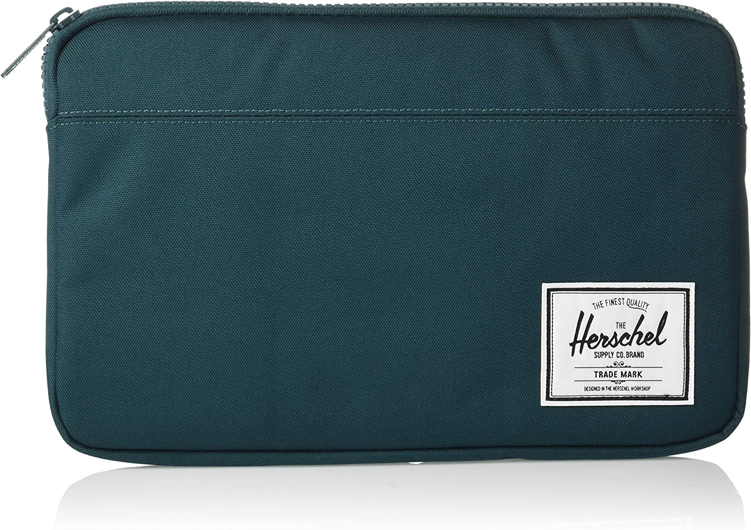 Herschel Anchor Sleeve for MacBook/iPad, deep teal, 12-Inch