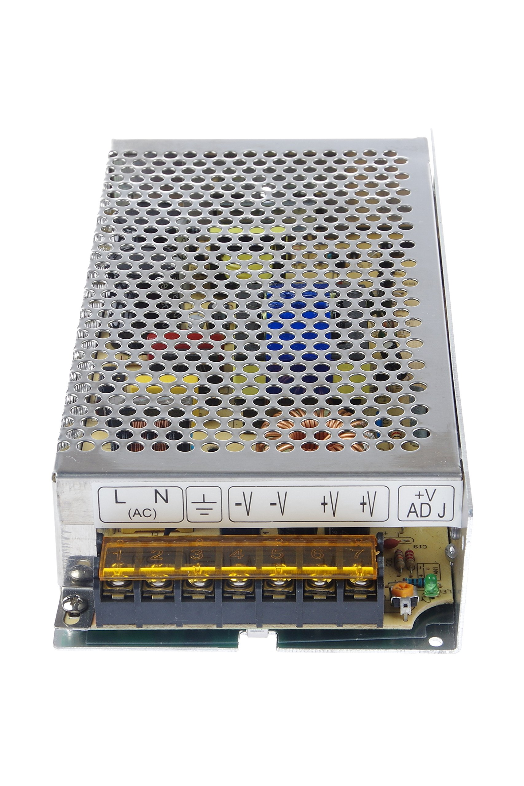 LM YN 110V/220V AC to DC 24V 5A 120W Switching Power Supply Driver,Power Transformer for CCTV camera, Security System, LED Strip Light, Radio, Computer Project by LM YN (Image #7)